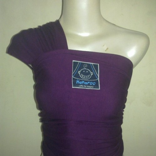 Foto Produk Hanaroo Babywrap Purple dari Tris Baby Shop