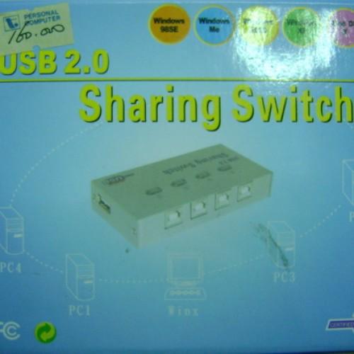 Foto Produk Sharing Switch USB2.0 1-4 ports (unbranded) dari Cipta Trading
