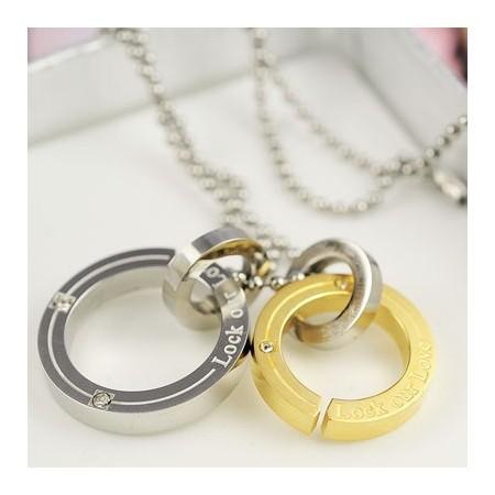 Foto Produk Kalung Lock Our Love dari KLIKHADIAH