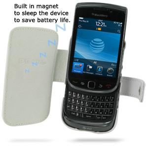 Foto Produk Pdair White Leather Case Blackberry Torch dari Christore