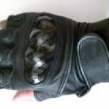 Foto Produk Sarung Tangan Kulit Asli HALF With Protector dari Enakans Moto Shop