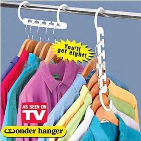 Foto Produk Wonder Hanger / Hanger Baju Pintar 1 Box Isi 8 dari IMPORTIR CHINA