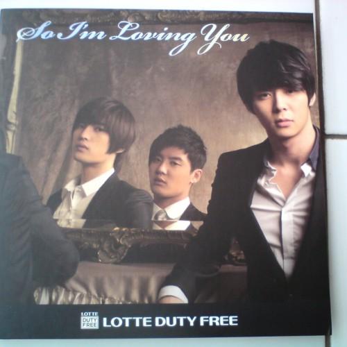 Foto Produk JYJ ( JEJUNG / YUCHUN / JUNSU ) - So I'm Loving You LOTTE DUTY FREE CF Making DVD + MEMO = 1DVD dari Haruna88 Online Shop