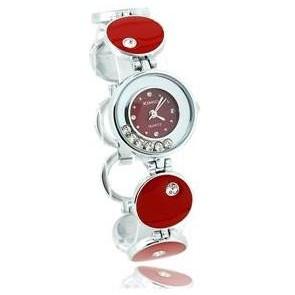 Foto Produk Jam Gelang KIMIO Kristal (Merah) dari Bhaguz Online Store