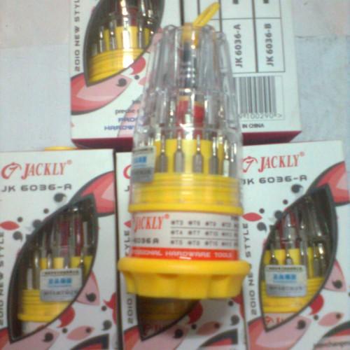Foto Produk Obeng Jackly 31 In 1 dari BRAYAN MAJU ONLINE