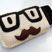 "Foto Produk Tempat Hp / Phone Case ""Mr.Moustache"" dari Sumringah Shop"