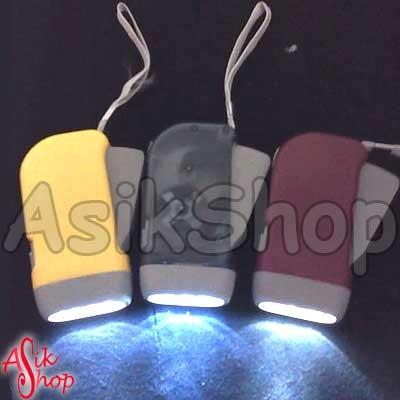 Foto Produk Senter Pompa (Tidak Perlu Batere) dari Toko Asik