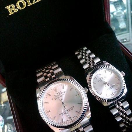 Foto Produk ROLEX COUPLE WATCH (include exclusive Box Rolex)  dari AthaDriMeL ShoP