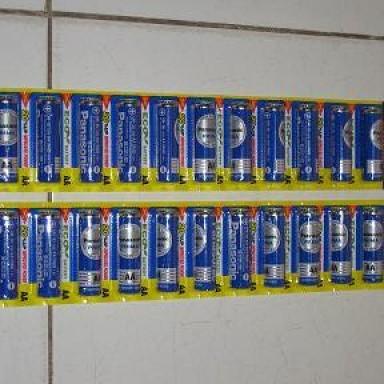 Foto Produk BATTERY PANASONIC SINGLE PACK AA (ISI 12 PCS) dari Saudara Jaya