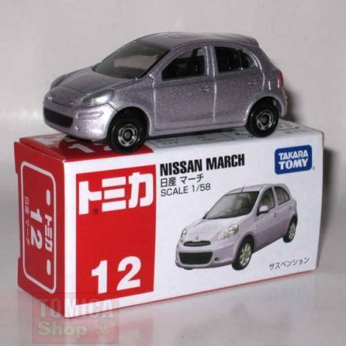 Foto Produk #012 Nissan March (TTB) dari Tomica Shop