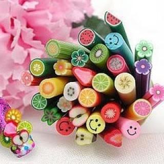 Foto Produk PROMO FIMO NAIL ART SLICE 100 SLICE = 10RIBU SAJA.BELI 500 SLICE BONUS 100 SLICE..!! dari Me n My Mom