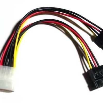 Foto Produk Molex 4P x2 to Power Sata 15P dari PELITAWIJAYA