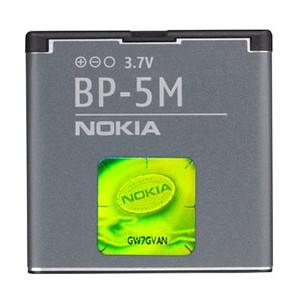 Foto Produk Nokia Battery, BP-5M 900 mAh 100% Original From Nokia (Packing) dari Eben Haezer Net