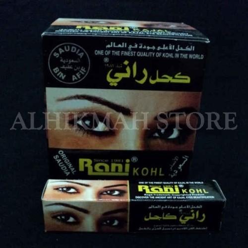 Foto Produk Rani Kohl -- celak atau pewarna hitam untuk mata dari Alhikmah Herbal