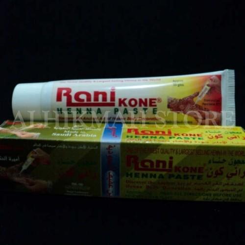 Foto Produk Rani Skin -- Seni Mahendi Atau Menggambar Kulit (Warna MERAH) dari Alhikmah Herbal