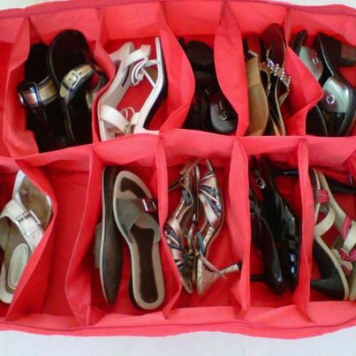 Foto Produk Shoes Bag Organizer Isi 12 Sepatu dari Jinlian Store
