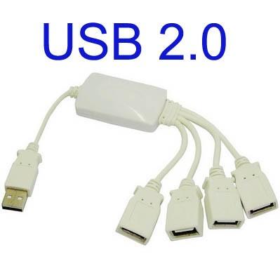 Foto Produk USB Hub dengan 4 Port dari Pusat Komputer Notebook - PUSKOM