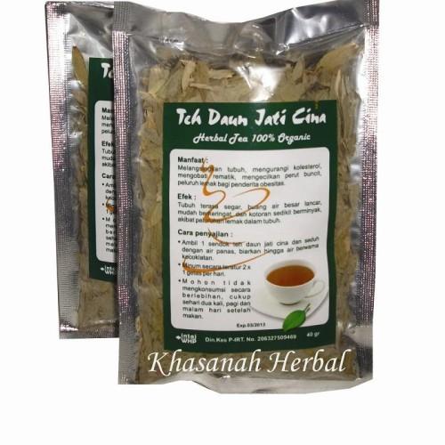 Foto Produk Teh Daun Jati Cina dari Khasanah Herbal