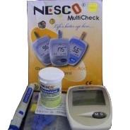 Foto Produk Nesco Multi Check N-01 (Glucose, Cholesterol, Uric Acid) dari Lingula Aurikula Alkes