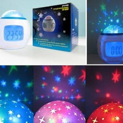 Foto Produk Jam Alarm + Proyektor Bintang + Natural Sound + Music Instrument dari ABC Store