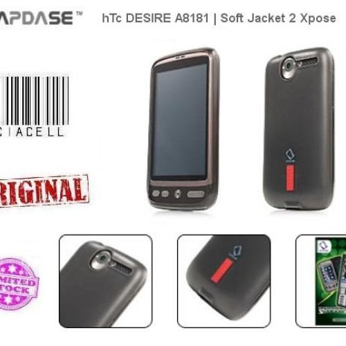Foto Produk Capdase Softjacket 2 Xpose For HTC Desire A8181 Softbank X06HT Black dari Licia Cellular