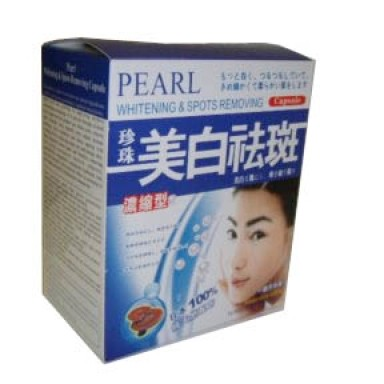 Foto Produk Pearl Whitening & Spots Removing Pills dari Cantique Shop