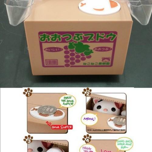 Foto Produk Celengan Kucing dari Toastshop