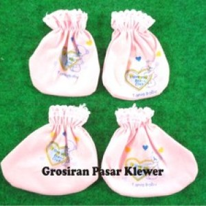 Foto Produk 1 Set Sarung Tangan & Kaki Bayi dari GROSIRAN PASAR KLEWER