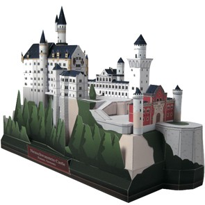 Foto Produk Neuschwanstein Castle, Germany dari PaperCraft