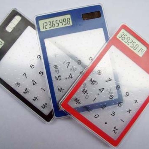 Foto Produk Kalkulator Transparan dari My LoveLy DuThky ShOp