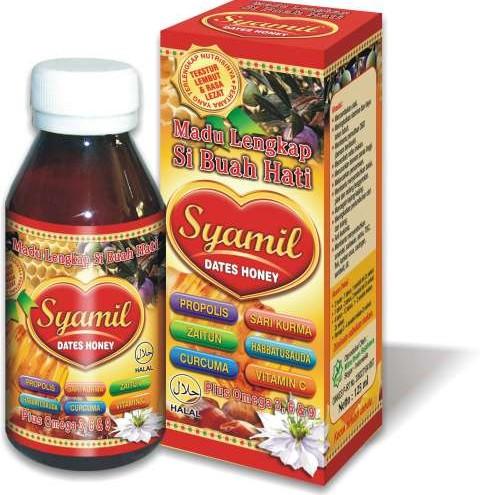 Foto Produk Madu Anak Plus Propolis  Syamil Dates Honey dari Herbal Online Shop