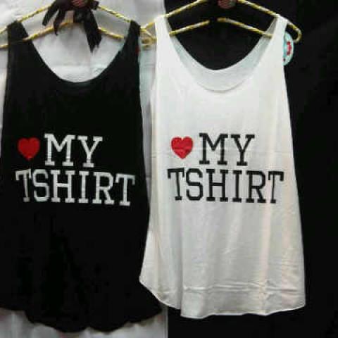 Foto Produk i love my t-shirt tank top dari PrincessBoutique