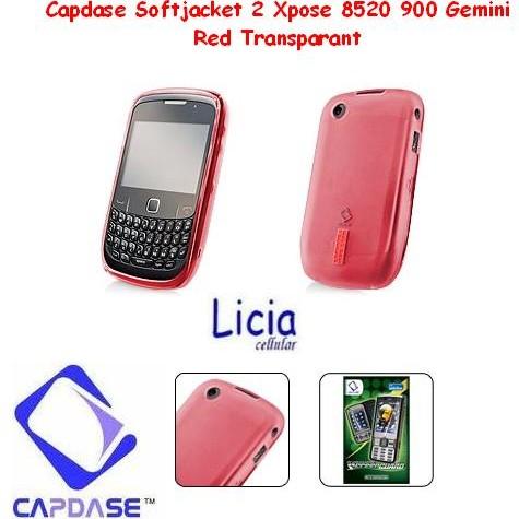 Foto Produk Capdase Softjacket 2xpose For Blackberry Gemini 8520 9300 red dari Licia Cellular