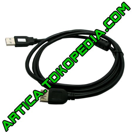 Foto Produk Kabel extention USB2.0 3m black dari Artica Computer
