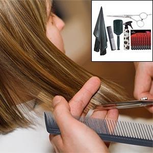 Foto Produk HAIR CUTTING  Panduan Memotong Rambut Ala Profesional Step By Step dari Tokobukuplus
