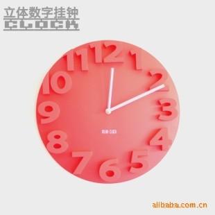 Foto Produk 3D Number Wall Clock dari Jual Barang Unik