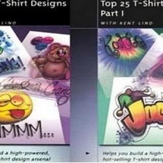 Foto Produk T-Shirt Design | Panduan Membuat Kaos Distro Unik Dan Menarik Kreasi Sendiri dari Tokobukuplus