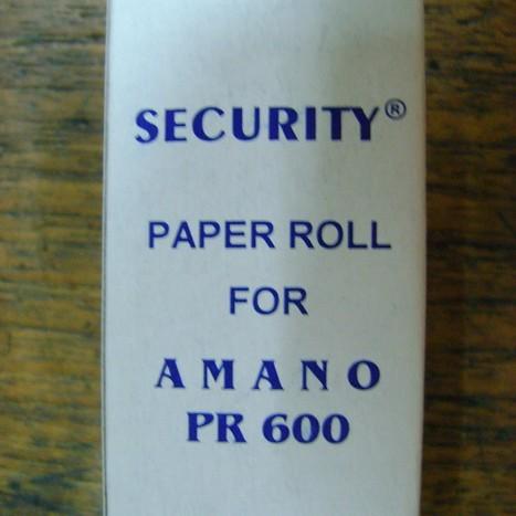 Foto Produk Security Roll for Amano PR 600 dari Cipta Trading