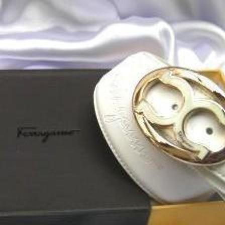 """Foto Produk Ikat Pinggang Branded Exclusive """"Salvatore Ferragamo"""" - PFIP.FRV4.PP ( Kulit Asli ) dari AthaDriMeL ShoP"""
