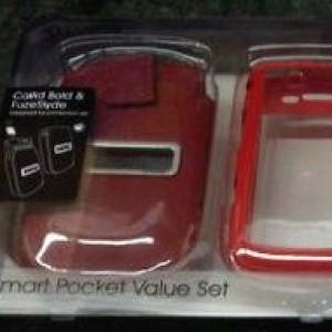 Foto Produk Capdase Original Value Set Blackberry 9800 Torch (Fuze + Smartpocket Callid) Red dari Licia Cellular