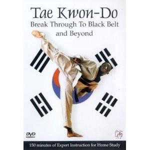 Foto Produk Tae Kwon Do Breakthrough To Blackbelt and beyond | Video Tutorial tehnik mencapai sabuk hitam beladiri Tae Kwon Do dari Tokobukuplus