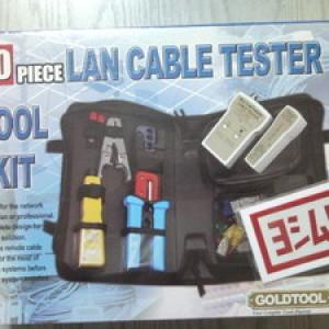 Foto Produk GOLD TOOL 90 Pieces LAN Cable Tester Tool Kit TTK-370 dari EVERYTHING4U