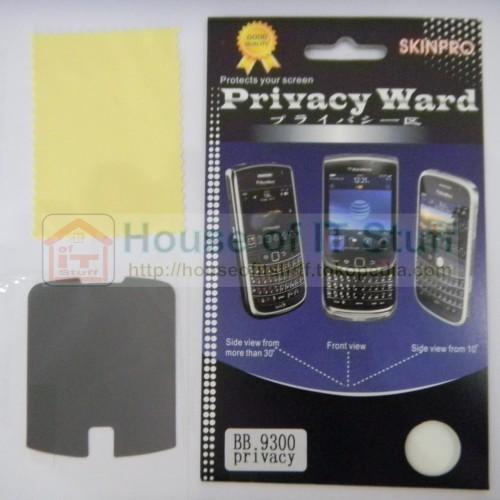 Foto Produk Anti Gores Anti Spy Blackberry Keppler 9300 (Screen Guard) dari House Of IT Stuff