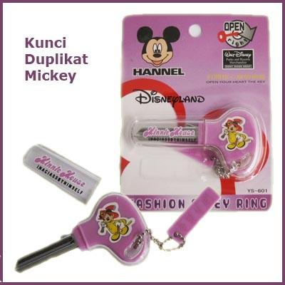 Foto Produk Kunci Duplikat ~ Mickey Mouse dari CloudsisPedia