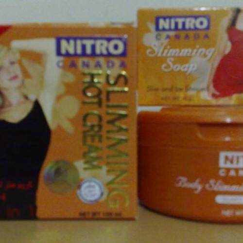 Foto Produk NITRO CANADA Body Slimming Hot Cream 100 ml. Slims 4 in 1  dari TIMUR TENGAH SHOP