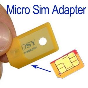 Foto Produk Micro Sim to Sim Card Adapter - Nosy - Twin Pack - Isi Dua dari Pusat Komputer Notebook - PUSKOM