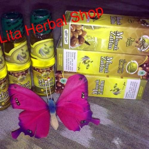Foto Produk Minyak Zaitun Al Ghuroba Extra Virgin 30ml dari Verlita Beauty Shop Solo