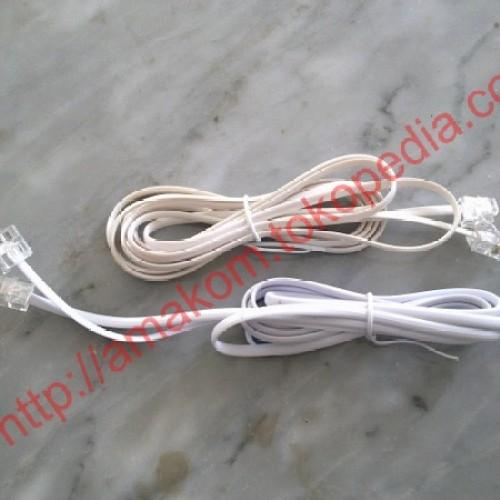 Foto Produk Kabel Roset Telepon 5m dari AMAKOM MEDIA KOMUNIKA
