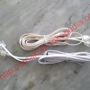 Foto Produk Kabel Roset Telepon 25m dari AMAKOM MEDIA KOMUNIKA
