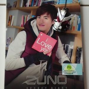 Foto Produk Zuno & Xiah Junsu - Secret Diary = 2DVD dari Haruna88 Online Shop
